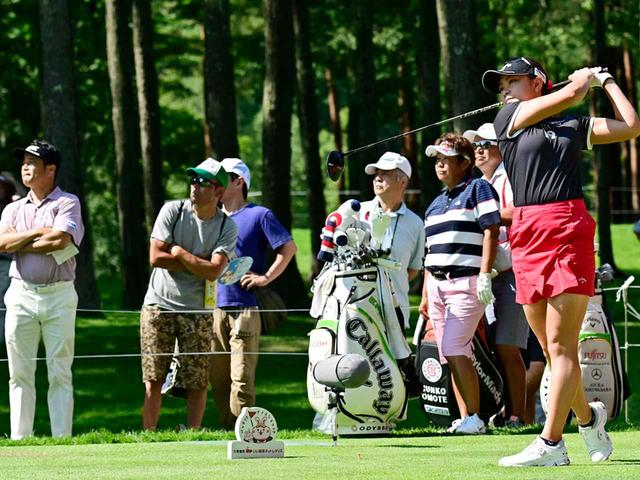 画像: 「黄金世代の子たちはゴルフIQがすごく高いね」(横田)