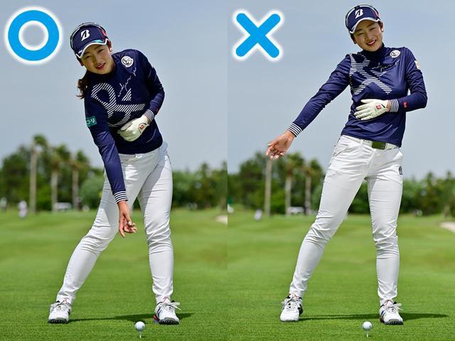 画像: 側屈を使い、体を締めて振り切るのが、松田プロのキレの源。少しでもキレが悪くなれば、メモして自分に喚起する