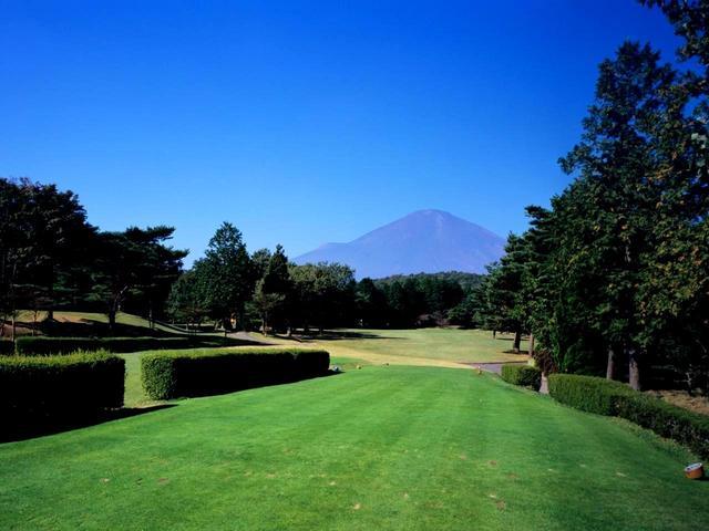 画像: いたるところで富士山を見ることができる