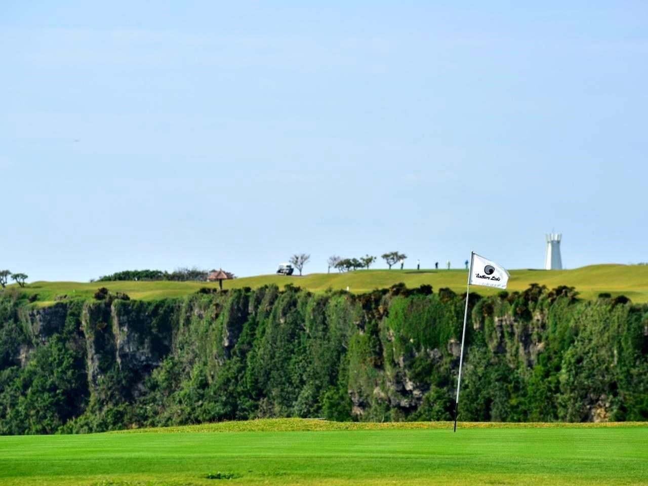 画像: 高さ40メートルの断崖
