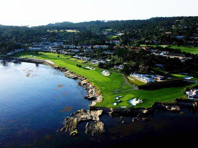 画像: モントレーを代表するコース、ペブルビーチ・ゴルフリンクス