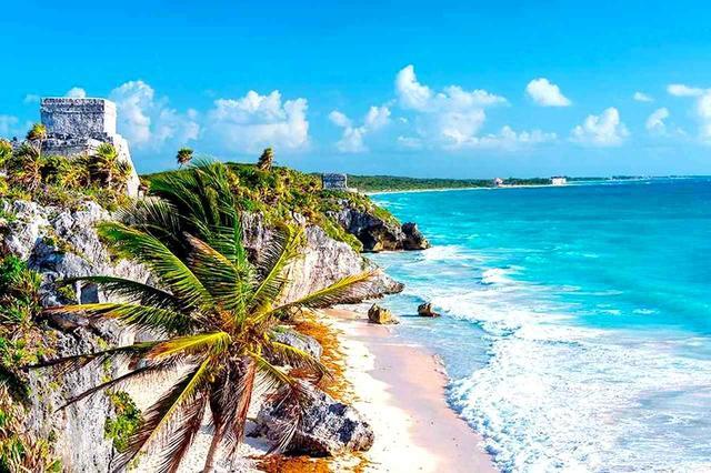 画像: 大自然が残るカンクンのビーチ