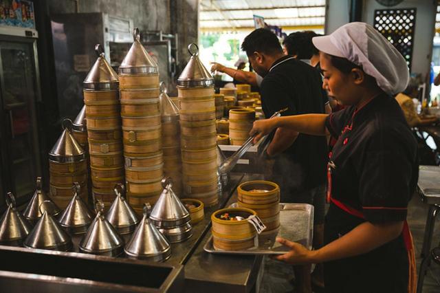 画像: 「蒸す」調理法は中国からタイへ