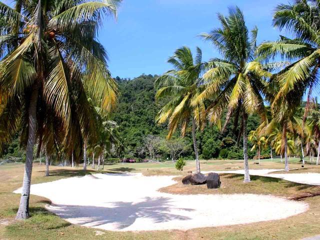 画像: 100万年といわれる熱帯林のホールと海沿いのホールの変化がすごい、マレーシアらしいチャンピオンコース