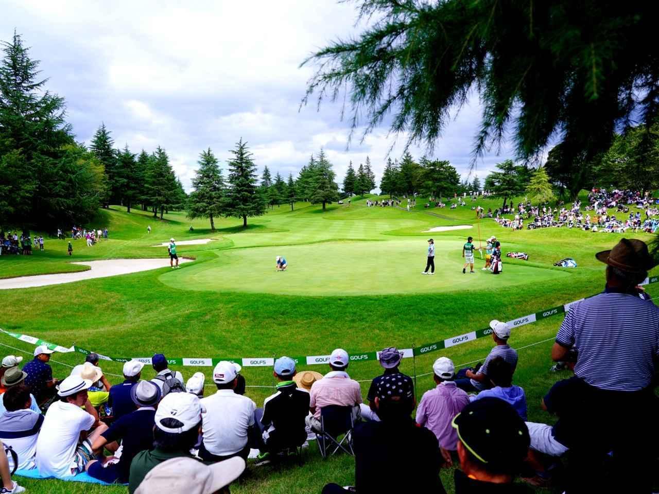 画像: ゴルフ5レディストーナメント開催コース。設計はJ・ニクラス