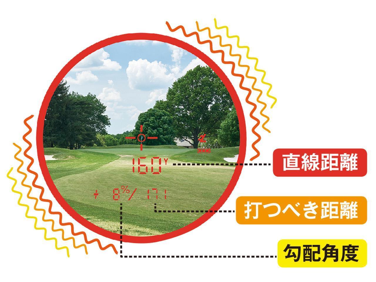 画像1: 打つべき距離をビビッとお知らせ ピンシーカー プロEXジョルト (ブッシュネルゴルフ)