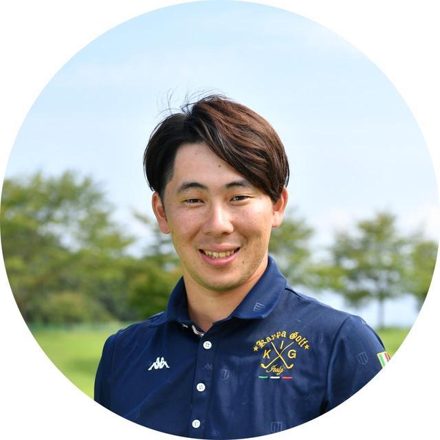 画像: 【解説】酒井南雄人プロ 目黒区のゴルフスタジオ「ジーハード」でレッスンを行う。自身も距離計測器を愛用中