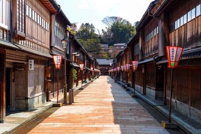 画像: 加賀城下町の風情を残す町並み