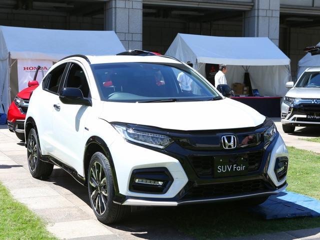 画像1: 2019年上半期SUV販売台数NO.1「ホンダ・ヴェゼル」