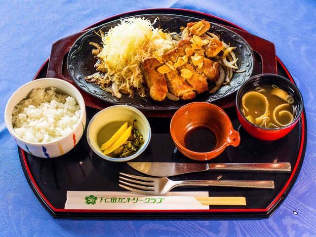 画像: 群馬県産豚ロース トンテキ膳 1720円