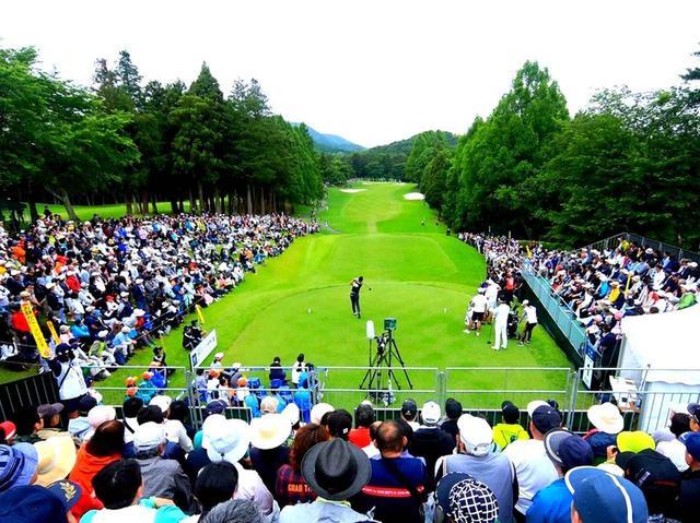 画像1: 宍戸ヒルズカントリークラブ(西コース18H・7425Y、東コース18H・6842Y・P72)。男子ツアー「ツアー選手権」開催コース