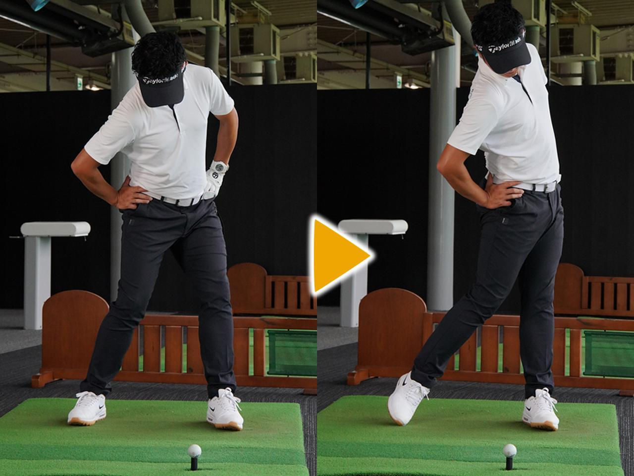 画像1: 左肩も一緒に「引く」ことで回転速度が上がる