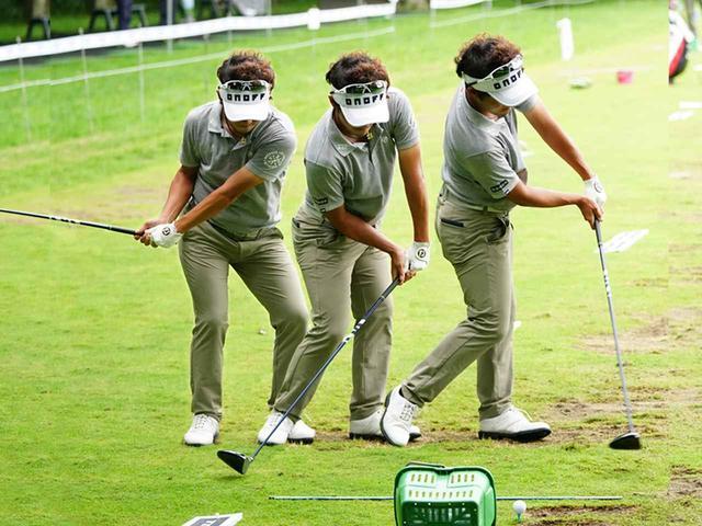 画像: 浅地がイメージしているのは、PGAツアーで活躍するアレックス・ノーレン。イメージはかなりハンドファースト