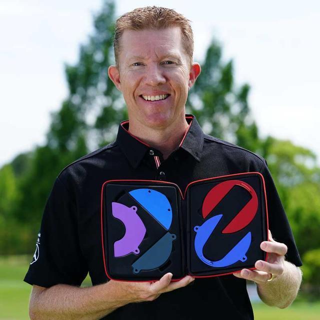 画像: 【練習器具】ツアー3勝のブラッド・ケネディが謎の円盤をもってゴルフダイジェストにやってきた! - ゴルフへ行こうWEB by ゴルフダイジェスト