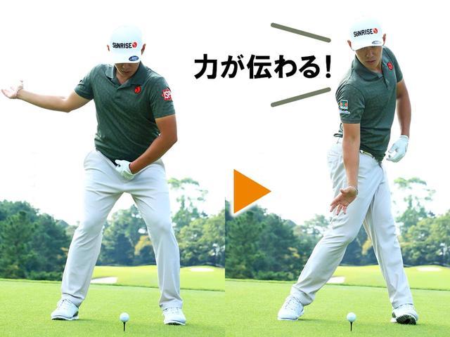 画像2: 【腕の使い方】右腕前腕の内旋でボールを押し込む