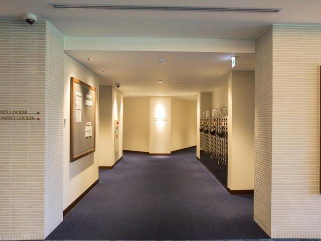 画像: ロッカールーム入り口