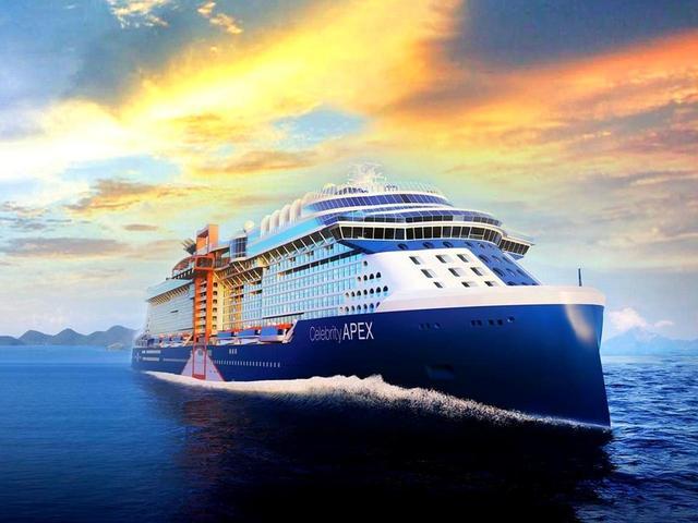 画像: セレブリティ・エイベックス 2020年4月就航予定、乗船人員2918名、12万9500トン、全長306㍍