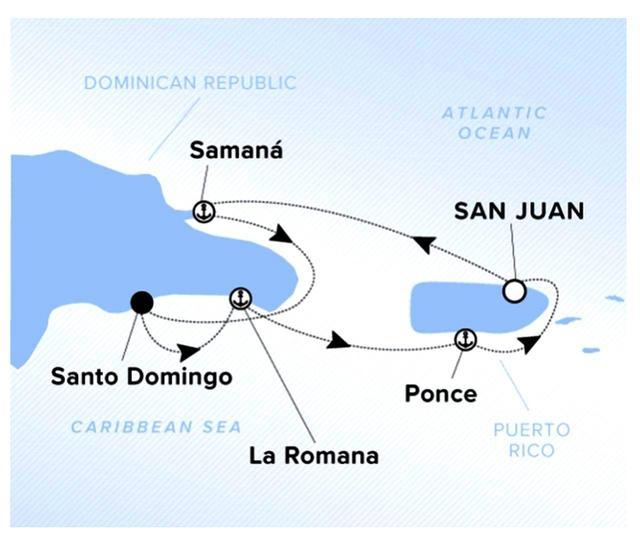 画像: ドミニカ、プエルトリコ、カリブ海を周遊