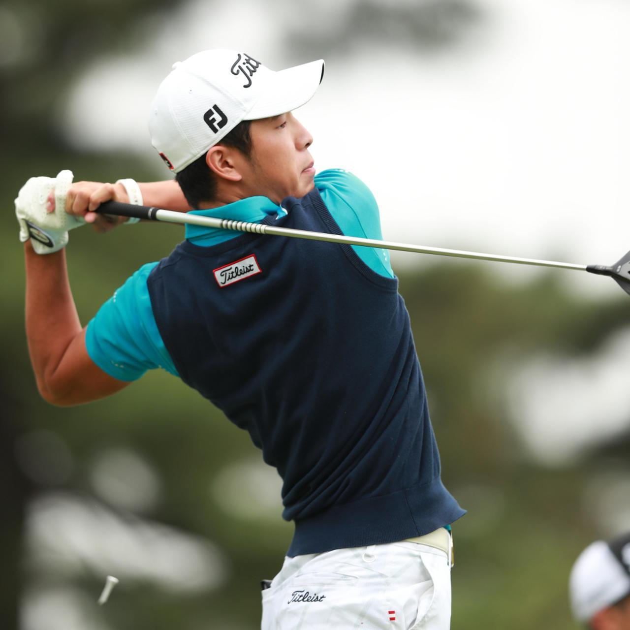 画像: 「僕は一生懸命泥臭くやってるんですけど……啓太はゴルフが全部綺麗なんです」(金谷)
