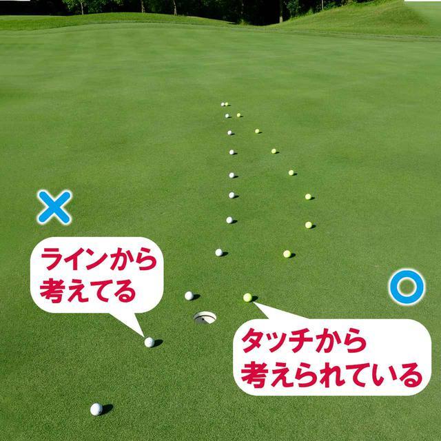画像: タッチから考えるとライン取りが厚くなる