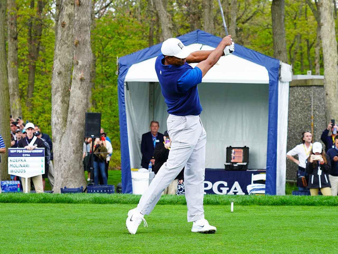 画像5: 【タイガー・ウッズ】PGAツアー82勝の偉業達成。43歳の新スウィングは手首が自然にリリース。体にやさしい、アマのお手本!