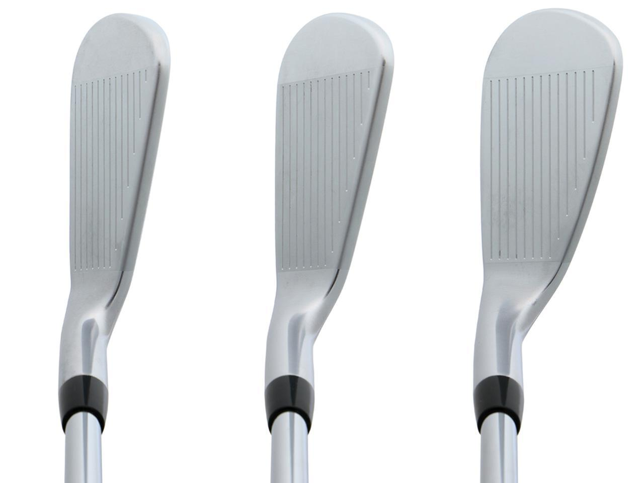 画像: トップラインが薄くシャープな顔つき。PGAツアーのジャスティン・トーマスも愛用(左から#5・26度、#7・33度、#9・41度)