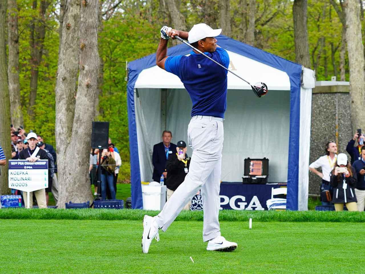画像6: 【タイガー・ウッズ】PGAツアー82勝の偉業達成。43歳の新スウィングは手首が自然にリリース。体にやさしい、アマのお手本!
