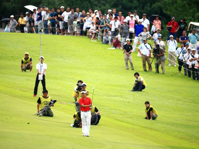 画像: KBCオーガスタのトーナメント風景(写真は2015年のチャンピオン、藤田寛之プロ)