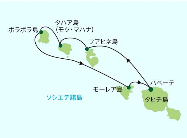 画像: タヒチの5島を8日間で周遊