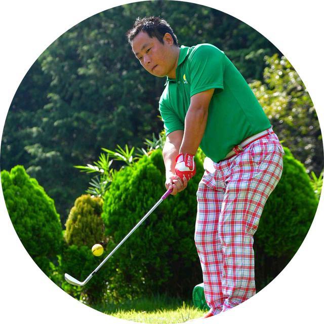 画像: 内田勇人(うちだはやと)さん/42歳 平成29年・30年クラブチャンピオン