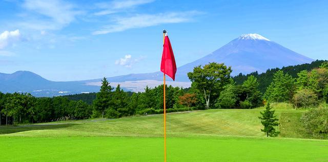 画像: 富士山の眺めも素晴らしい