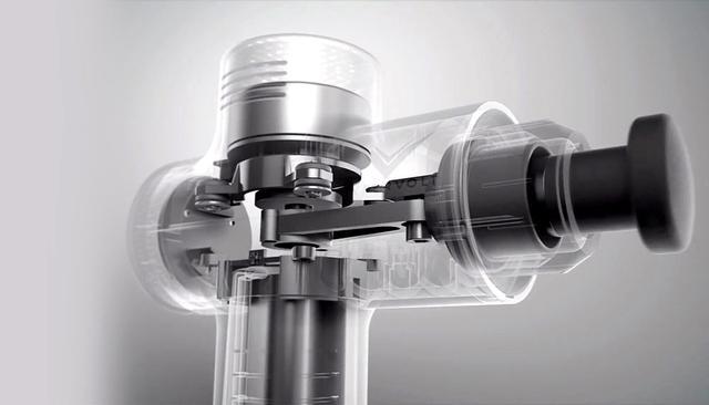 画像: 強力な振動を生み出しながらも、特許取得済みのQuiet Glideテクノロジーにより静かな音で作動
