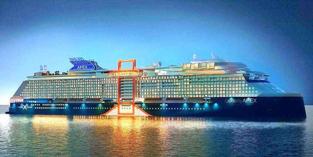 画像: 新造船「セレブリティ・エイペックス」