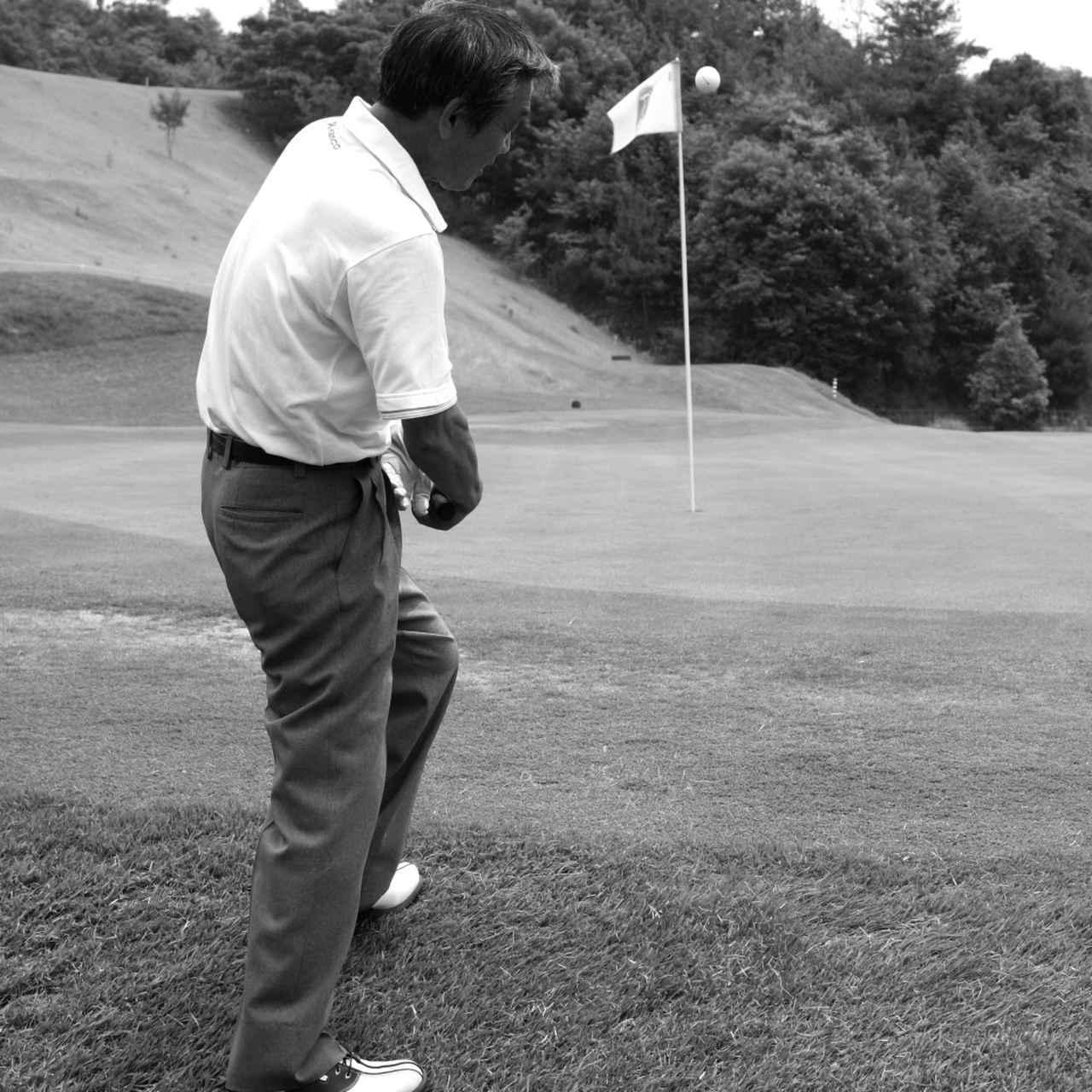 画像3: 【通勤GD】高松志門・奥田靖己の一行レッスンVol.43 アプローチの打ち方を磨く練習法 ゴルフダイジェストWEB