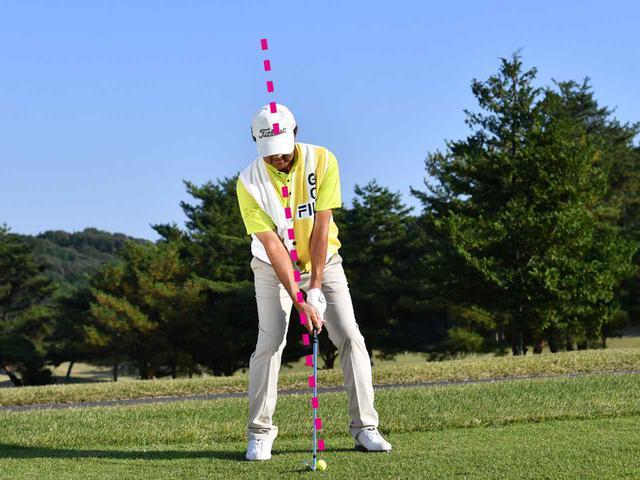 画像4: 【アイアン】引っかけ、ショート、ザックリをなくす。グリーン面が見えない、左足上がりの100ヤード①