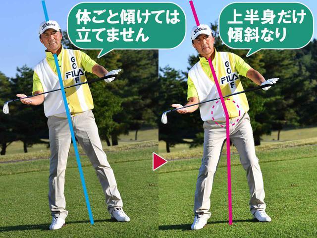 画像5: 何番で打つ? 5度ごとに番手を上げる
