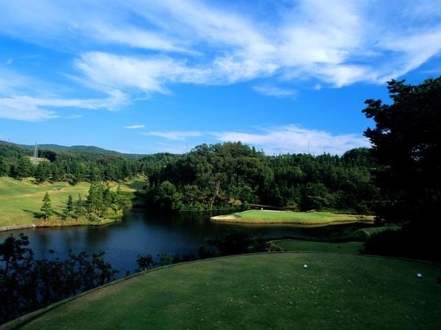画像: 東広野ゴルフクラブ 3番(183Y・P3)浮島グリーン