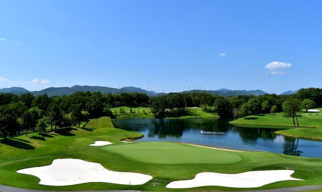 画像: ABCゴルフ倶楽部 18番(525Y・P5)