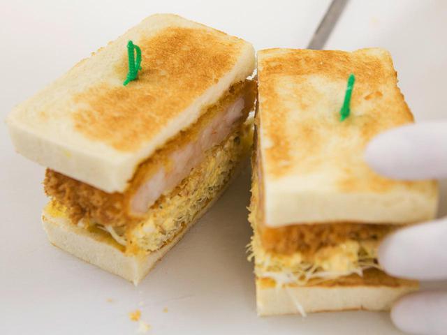 画像3: 【ゴルフ場の名物クラブハウスサンド②】午後のスタートへサンドイッチで腹ごしらえ。ステーキ・エビカツ・生ハム・玉子…メニューは無限大!