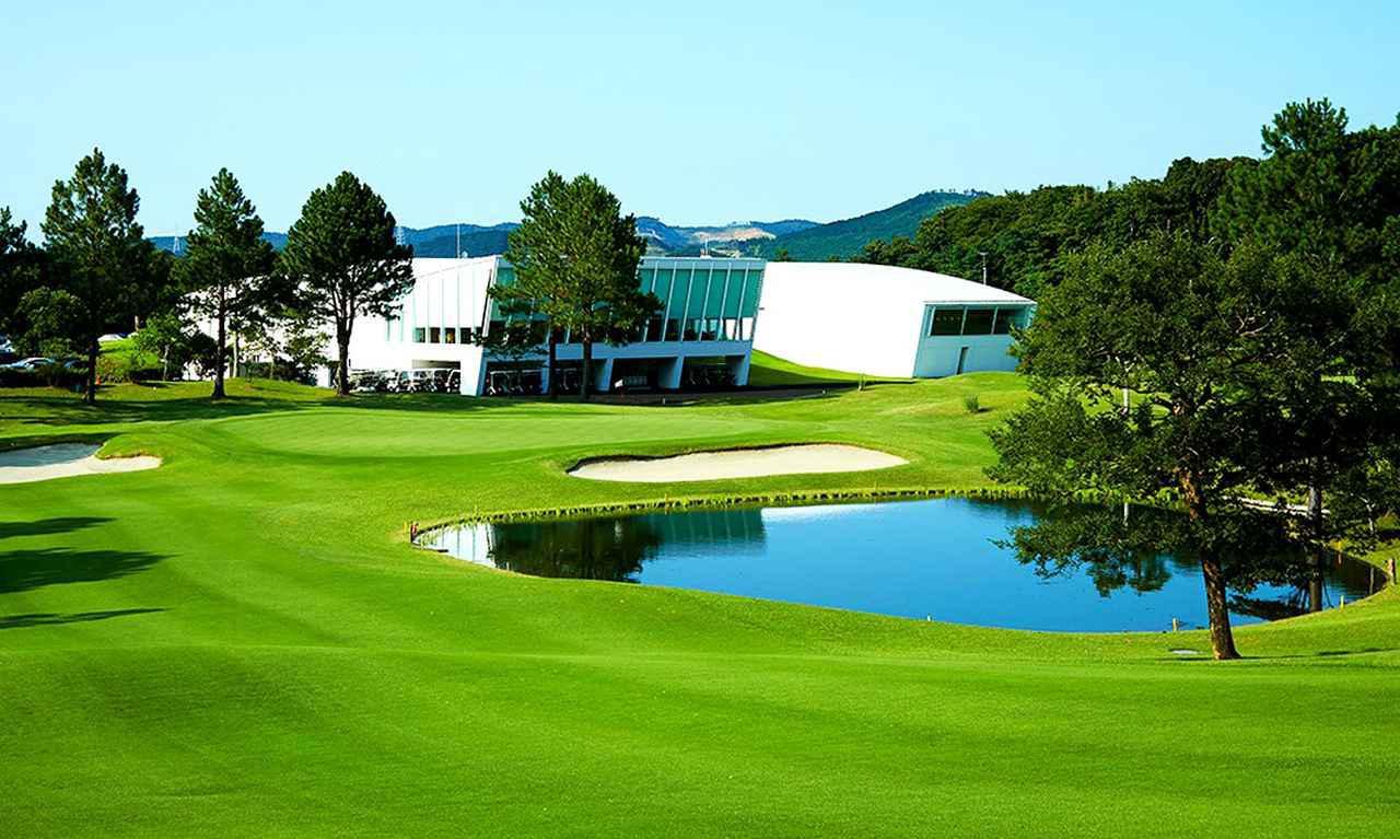 画像: ジャパンPGAゴルフクラブ 18番ホール