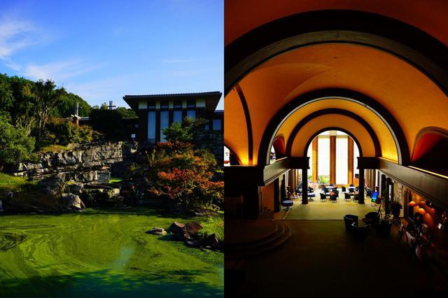画像: 名建築「落水荘」がモチーフ
