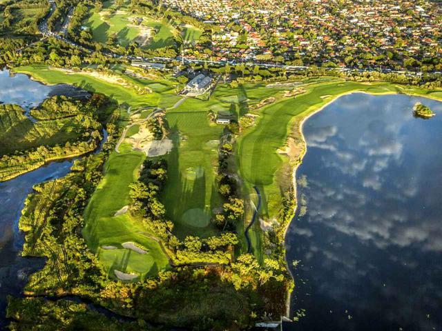 画像: 海岸地形そのまま、ザ・レイクス・ゴルフクラブ