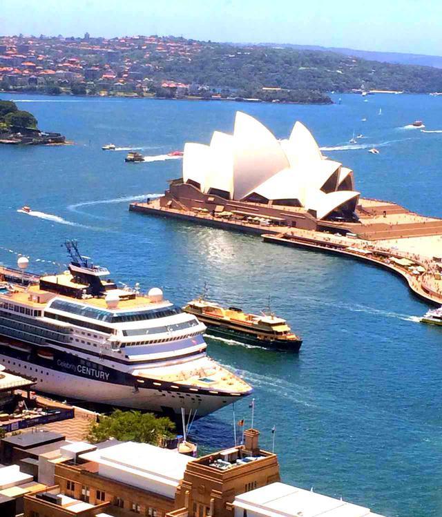 画像: 港湾都市シドニー、オペラハウス
