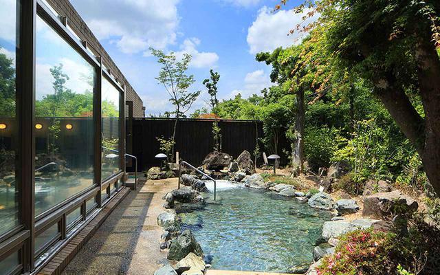 画像: 地下1200メートルから湧き出る松ヶ沢温泉