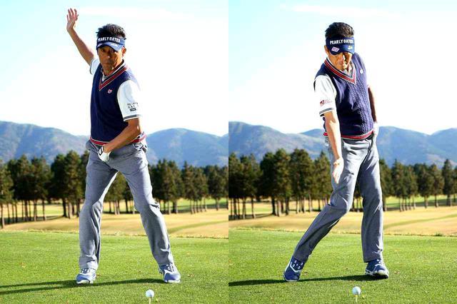 画像1: レベルスウィングは体にやさしい動き