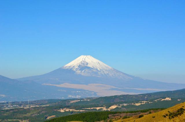 画像: 晴れの日には富士山の眺め