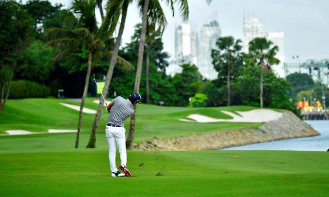 画像: セントーサGCではシンガポールオープン開催
