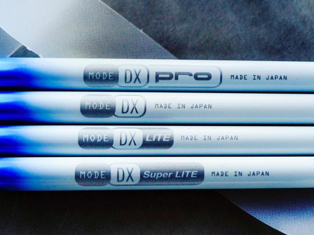 画像: マルチフレックス(あらゆるHSに対応)で、30g台の「DX Super LITE」から60g台の「DX pro」まで4つの重量帯をラインナップ