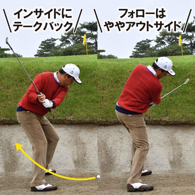 画像: 【アゴの近く】左足上がり傾斜があって意外とやさしい