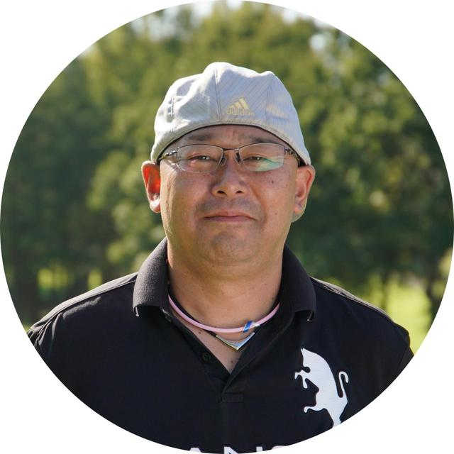 画像: 川野卓也さん 平均スコア90でアプローチは大の苦手